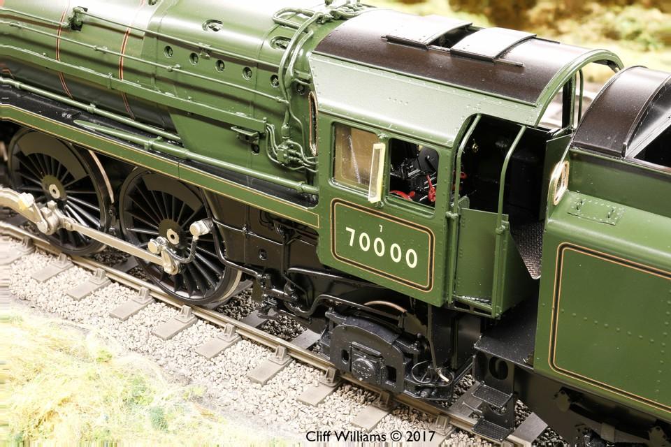 55H/LHL Britannia in O Gauge - LH Loveless & Co