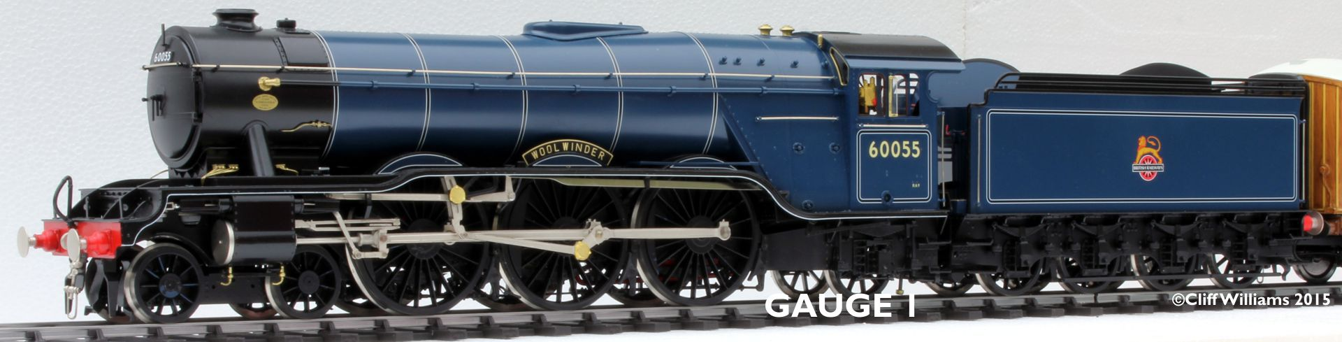 Our fabulous Gauge One models direct from our studio in